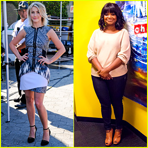 Julianne Hough & Octavia Spencer: 'Paradise' Promo Work!