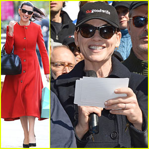 Julianna Margulies & 'Good Wife' Cast Raise Money for Charity!