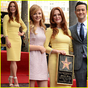 Julianne Moore: Hollywood Walk of Fame Ceremony!