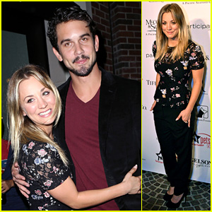 Kaley Cuoco: Amanda Foundation Event with Ryan Sweeting!