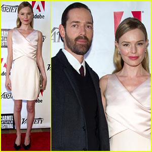 Kate Bosworth: 'Big Sur' at Carmel Film Fest with Michael Polish!
