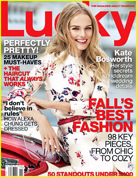 Kate Bosworth Covers 'Lucky' November 2013