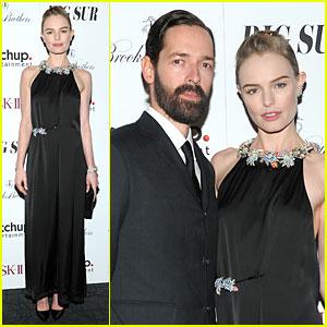 Kate Bosworth & Michael Polish: 'Big Sur' NYC Premiere!