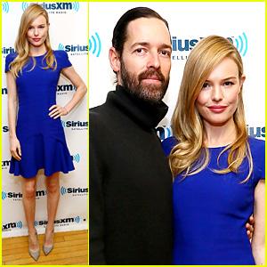 Kate Bosworth: SiriusXM Radio Stop with Michael Polish!