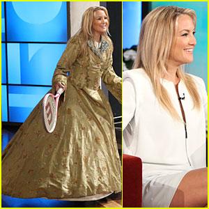 Kate Hudson Talks Future Marriage to Matthew Bellamy on 'Ellen'!