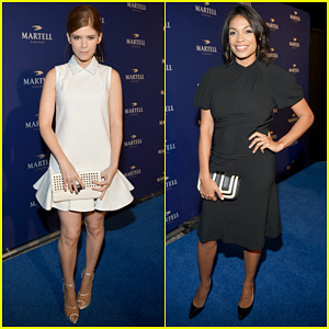 Kate Mara & Rosario Dawson: Martell Caractere Launch Event!