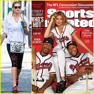 Kate Upton Covers 'Sports Illustrated' for Third Time!