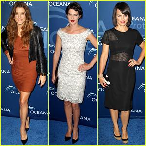 Kate Walsh & Cobie Smulders: Oceana Partners Award Gala!