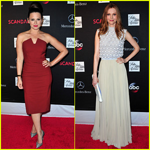 Katie Lowes & Darby Stanchfield: 'Scandal' Season 3 Premiere!