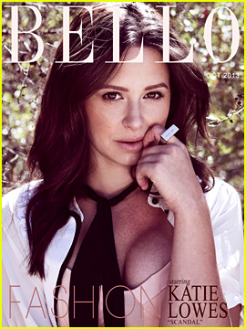 Scandal's Katie Lowes is Fashion Fierce for 'Bello' Magazine