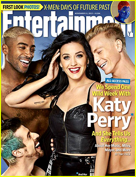 Katy Perry Covers 'EW' After Topping the Billboard 200!