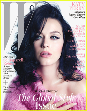 Katy Perry Covers 'W' Magazine November 2013