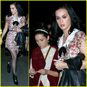 Katy Perry: John Mayer Concert with Shannon Woodward!