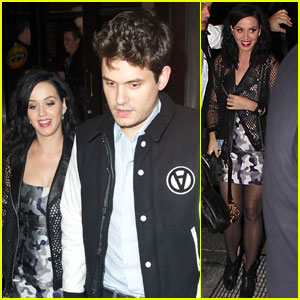 Katy Perry & John Mayer: 'SNL' After-Party Pair!