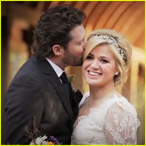 Kelly Clarkson: Wedding Video with Brandon Blackstock!