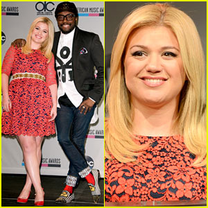 Kelly Clarkson & will.i.am Announce AMAs 2013 Nominations!