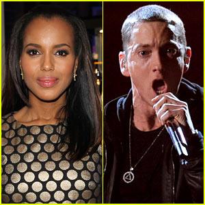 Kerry Washington & Eminem Set for 'Saturday Night Live'!