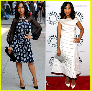 Kerry Washington: 'Scandal' Not Affected by Gov't Shutdown!