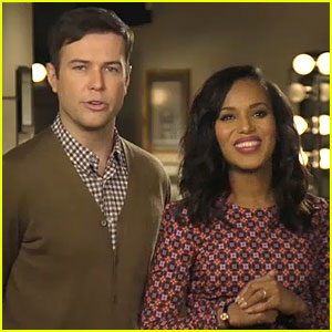 Kerry Washington: 'SNL' Promo with Taran Killam (Video)!