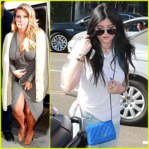 Kim Kardashian & Kylie Jenner: DASH Store Visit!