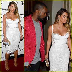 Kim Kardashian: Vegas Birthday Celebration with Kanye West!