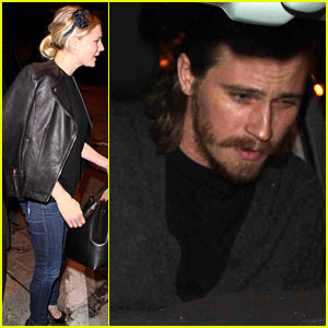 Kirsten Dunst & Garrett Hedlund Enjoy a Dinner Date Night!