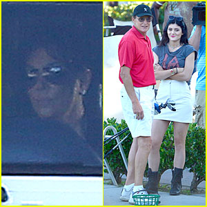 Kris Jenner & Bruce Jenner Step Out After Separation