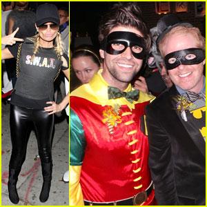 Kristin Chenoweth & Jesse Tyler Ferguson: Hollywood Halloween!