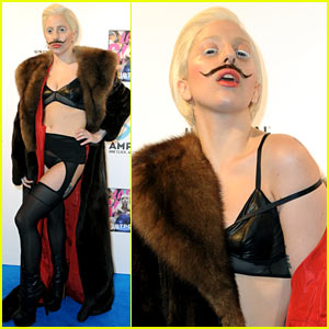 Lady Gaga Wears Bra & Underwear for 'ARTPOP' Party!