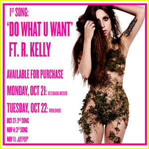 Lady Gaga: 'Do What U Want' ft. R. Kelly Snippet - Listen Now!