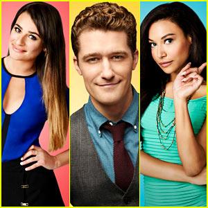 Lea Michele: 'Glee' Season Five Cast Portraits!