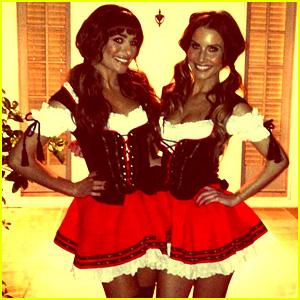 Lea Michele Reveals Sexy Halloween Costume!