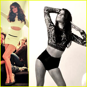Lea Michele Shares Pictures from Album Cover Photo Shoot!