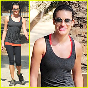 Lea Michele: Start Each Day with a Grateful Heart!