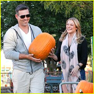 LeAnn Rimes & Eddie Cibrian: Pumpkin Picking Pair!
