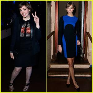 Lena Dunham & Karlie Kloss: Lowline's Anti-Gala Benefit Dinner!