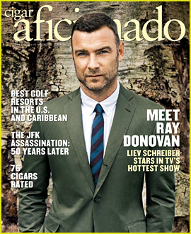 Liev Schreiber Covers 'Cigar Aficionado' Nov/Dec 2013!