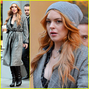 Lindsay Lohan: Home Sweet Home in NYC!