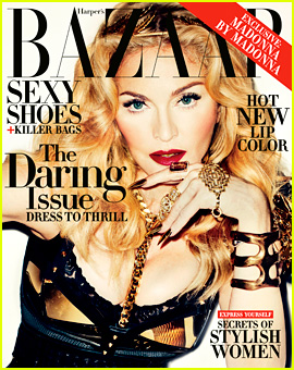 Madonna Covers 'Harper's Bazaar' Daring Issue for Nov. 2013!