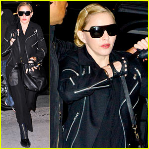 Madonna Takes Flight After Being Banned from Alamo Cinema!