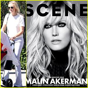 Malin Akerman Covers 'Scene' October 2013