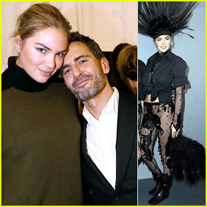 Kate Upton Poses with Marc Jacobs After His Louis Vuitton Exit News