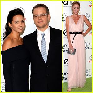 Matt Damon & Julie Bowen: Environmental Media Awards!