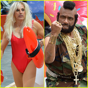 Matt Lauer Does Pamela Anderson's 'Baywatch' Character for Halloween!
