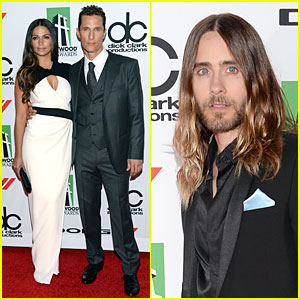 Matthew McConaughey & Camila Alves: Hollywood Film Awards 2013