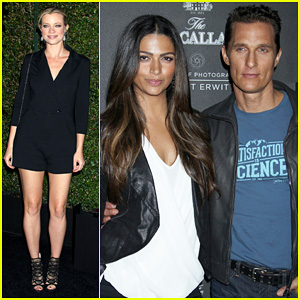 Matthew McConaughey & Camila Alves: Macallan Masters of Photography Debut!