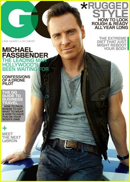 Michael Fassbender: Bulging Arms for 'GQ' November 2013