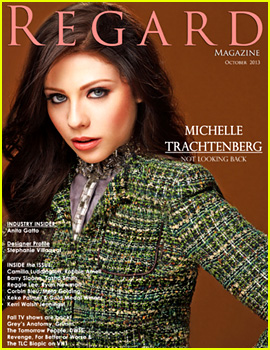 Michelle Trachtenberg Covers 'Regard' Mag October 2013