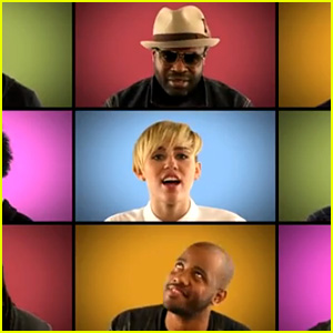 Miley Cyrus: Acapella 'We Can't Stop' with Jimmy Fallon!