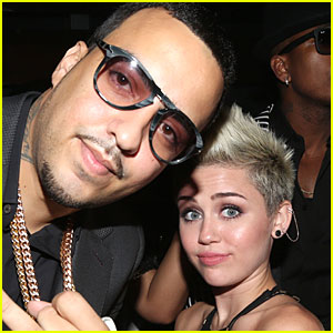 Miley Cyrus Raps on French Montana's 'Ain't Worried About Nothin' Remix!